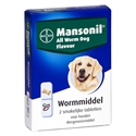Mansonil All Worm Dog 2 tabletten