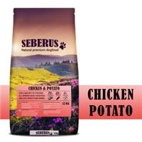 Seberus Chicken & Potato Graanvrij Hondenvoer 1 kg