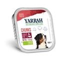 Yarrah Bio Kuipje Brokjes Hondenvoer Rund 150 gr