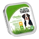 Yarrah Bio Kuipje Brokjes Hondenvoer Kip-Groente 150 gr