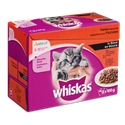 Whiskas Pouch Junior In Saus 1 x (12 x 100 gr)
