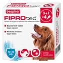 Beaphar FiproTec Spot-On Hond 10-20 kg - 4 pipetten