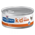 Hills Prescription Diet Kat K / D Blikjes 156 gr 1 tray (24 blikken)