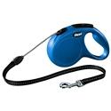 Flexi Classic Cord 5 meter Medium Blauw