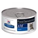 Hills Prescription Diet Kat Z / D blikjes 156 gr 1 tray (24 blikken)
