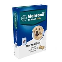Mansonil All Worm Tasty 2 tabletten