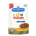 Hills Prescription Diet Feline C/D Urinary Stress Zalm 12 x 85 gr