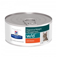 Hills Prescription Diet Feline W/D 24 x 156 gr