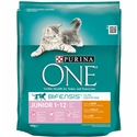 Purina One Junior Kip Volkoren Kat 800 gr