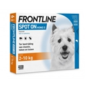 Frontline Spot On Hond S - 2 x 6 pipetten