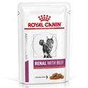 Royal Canin Renal Beef zakjes 48 x 85 gr
