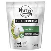 Nutro Grain Free Adult Medium Lam Hond 1,4 kg