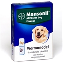 Mansonil All Worm Dog 6 tabletten