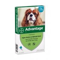 Advantage 100 Hond 4-10 kg 4 pipetten
