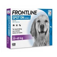 Frontline Spot On Hond L - 6 pipetten