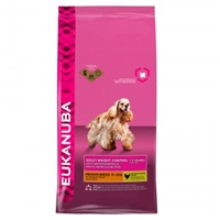 Eukanuba Adult Weight Control Medium Breed Kip 12 kg