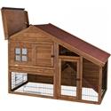 Trixie konijnenhok Natura Living luxe 151x107x80cm