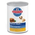 Hill's Science Plan Canine Mature Adult Kip (blikvoer) 1 tray (12 blikken)