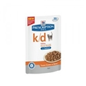 Hills Prescription Diet Feline K/D Renal Health Zalm 12 x 85 gr