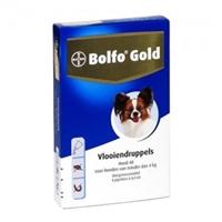 Bolfo Gold Hond 40 - 4 Pipetten