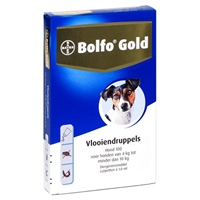 Bolfo Gold Hond 100 - 4 Pipetten