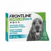 Frontline Combo Hond M (10-20 kg) - 4+2 pipetten
