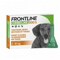 Frontline Combo Hond S (2-10 kg) - 4+2 pipetten