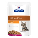 Hills Prescription Diet Feline K/D Renal Health Beef 12 x 85 gr