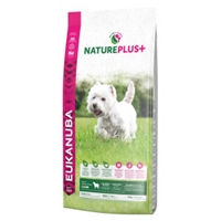 Eukanuba NaturePlus+ Adult Small Breed Lam Hond 10 kg
